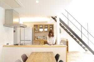 LibWorkモデルハウス家具納品写真