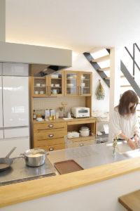 LibWorkモデルハウス家具納品写真2