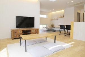 LibWorkモデルハウス家具納品写真3