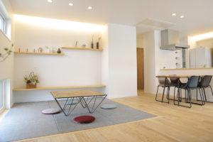 LibWorkモデルハウス家具納品写真4