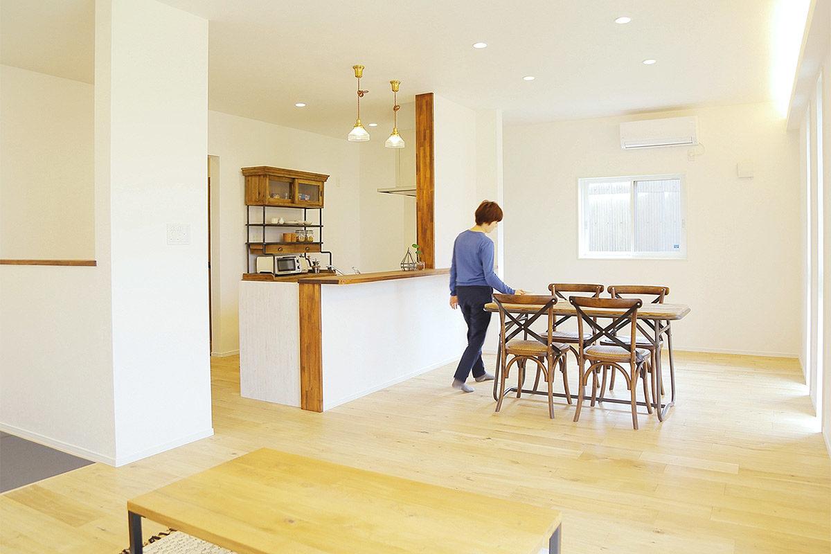 LibWork様モデルハウス家具納品事例(佐賀県神埼市)