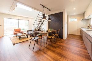 アイキョーホーム モデルハウス家具納品写真7(千葉県千葉市)