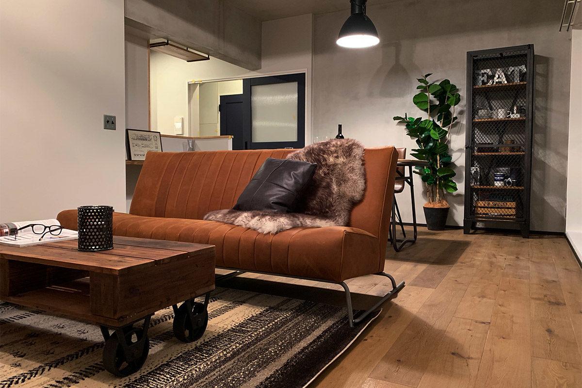 コラボモデルハウス、家具インテリア納品写真001