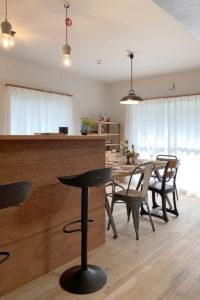 コラボモデルハウス、家具インテリア納品写真006