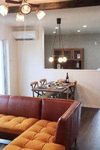 星野建設様モデルハウス家具納品写真2(熊本県)