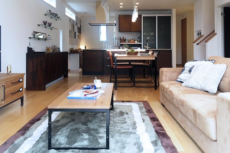 クラッシュゲート博多店、モデルハウスへの家具インテリア納品写真003