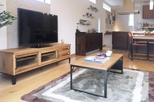 クラッシュゲート博多店、モデルハウスへの家具インテリア納品写真004