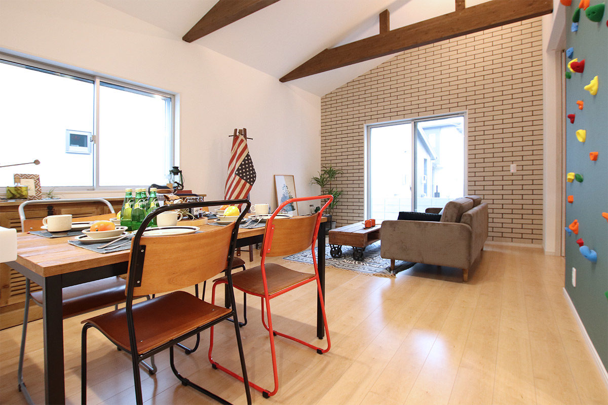クラッシュゲートエキスポシティ大阪店の家具インテリア納品写真:エルハウジング様モデルハウス001