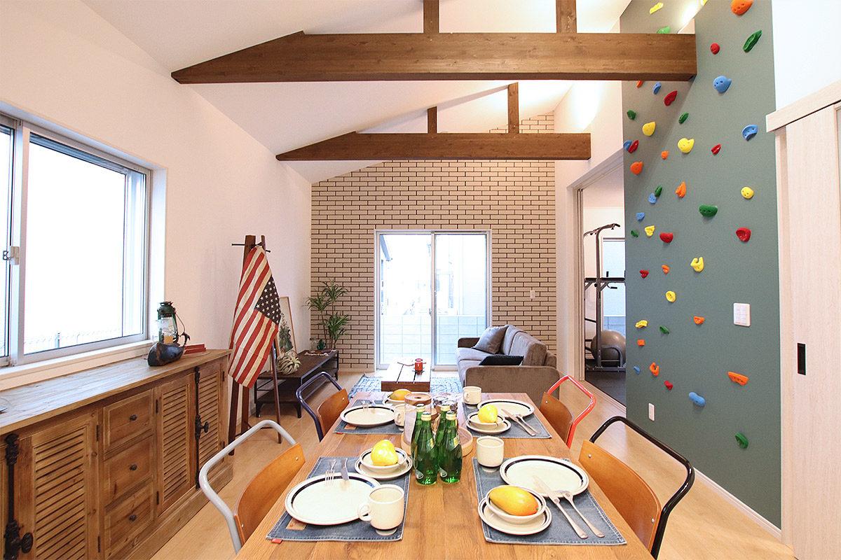 クラッシュゲートエキスポシティ大阪店の家具インテリア納品写真:エルハウジング様モデルハウス002