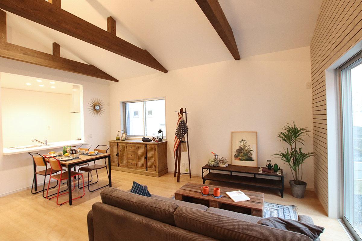 クラッシュゲートエキスポシティ大阪店の家具インテリア納品写真:エルハウジング様モデルハウス003