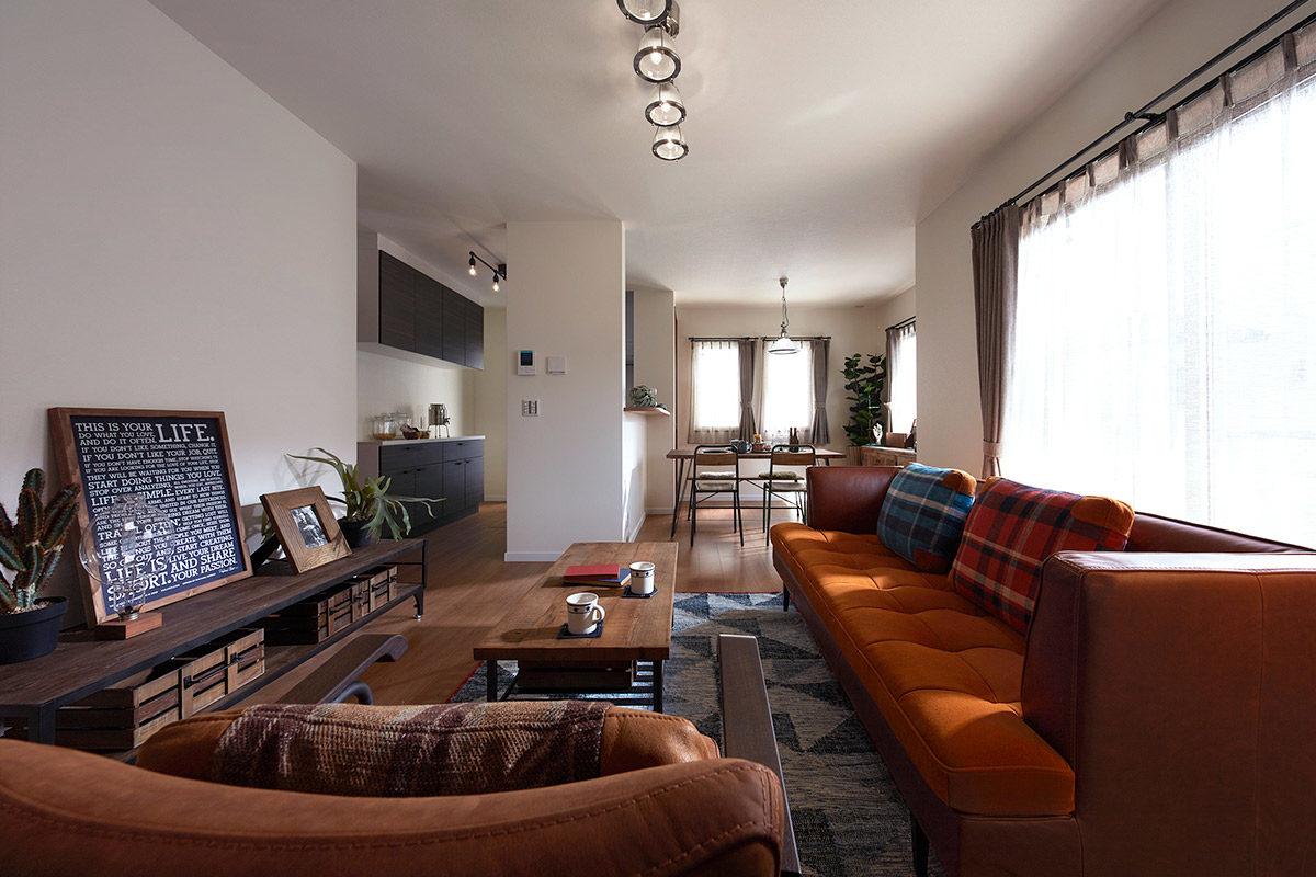 クラッシュゲートなんば店:家具インテリア納品事例つばさが丘モデルハウス写真002