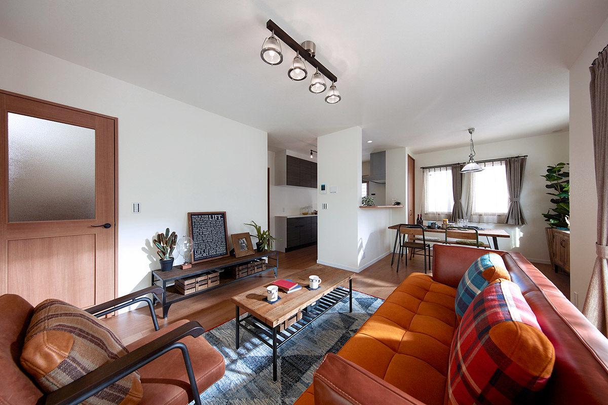 クラッシュゲートなんば店:家具インテリア納品事例つばさが丘モデルハウス写真003