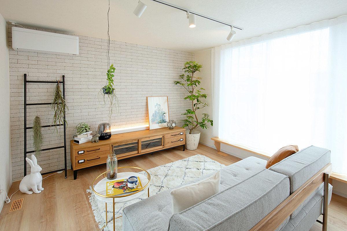 クラッシュゲート岡山店インテリア納品事例:岡山県倉敷市モデルハウス写真001