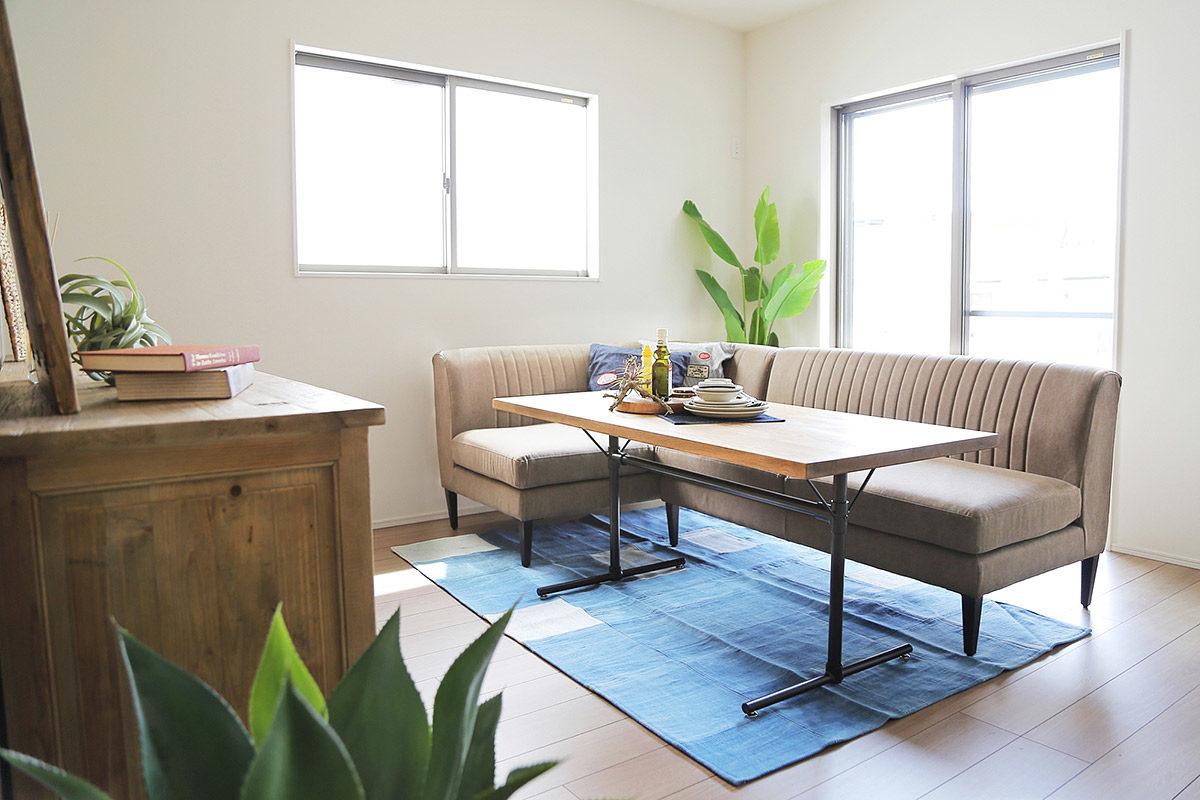 クラッシュゲート博多店の家具インテリア納品事例:モデルハウス(宮崎県日向市)納品写真001